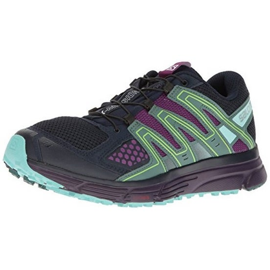 Salomon Womens X-Mission 3 W, Navy Blazer/Grape Juice/North Atlantic