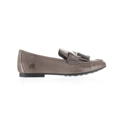 Born Womens Charen Gray Loafers Size 8