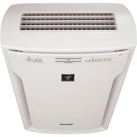 Sharp True HEPA Air Purifier with Plasmacluster Ion Technology for Extra-Large Rooms (FPA80UW)