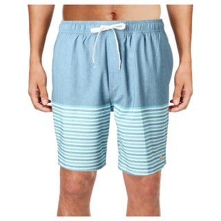 Quiksilver Mens Breezy Swimwear Striped Board Shorts