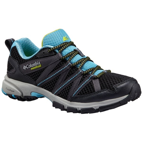 Columbia Montrail Mountain Masochist III Shoe, Womens - bounty blue/black
