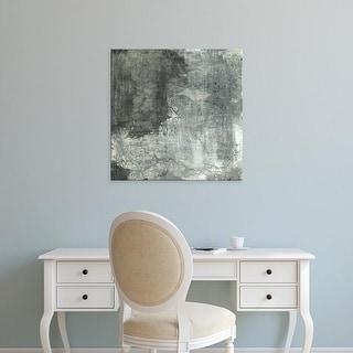 Easy Art Prints Elena Ray's 'Gray Abstract II' Premium Canvas Art