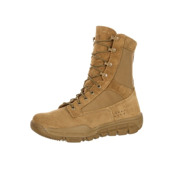 Rocky Tactical Boot Men Lightweight Commercial Coyote Brown