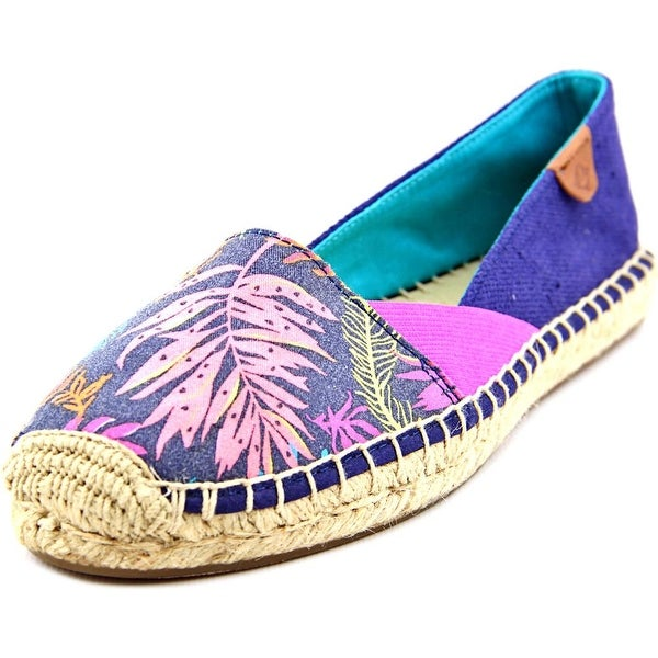 Sperry Top Sider Katama Cape Round Toe Canvas Espadrille