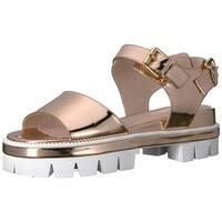 Shellys London Womens dita Open Toe Casual Ankle Strap Sandals - 6.5