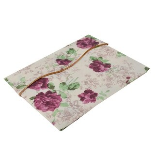 "Home Picnic Square Peony Pattern Oil-proof Tablecloth Table Cloth Cover 35""x35"""