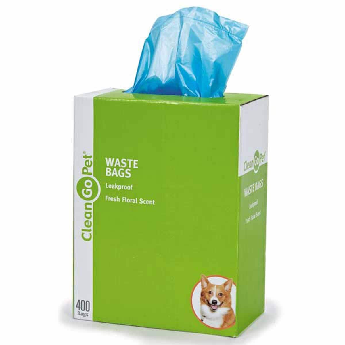 Clean Go Pet Fresh Fl Scented Waste Bags 400 Count