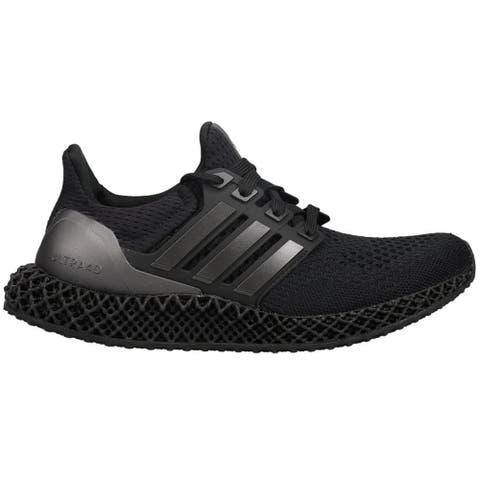 adidas Ultra4d Mens Running Sneakers Shoes - Black