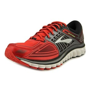 Brooks Glycerin 13 Men Round Toe Synthetic Red Running Shoe
