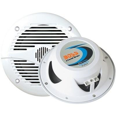 """Boss Marine 6.5"""" 2-Way Coaxial Speaker 200W White"""