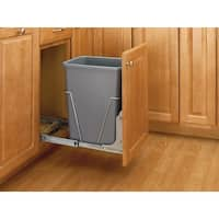 Rev-A-Shelf RV-50-52 RV Series Single Bin Replacement Trash Can - 50 Quart Capacity - N/A