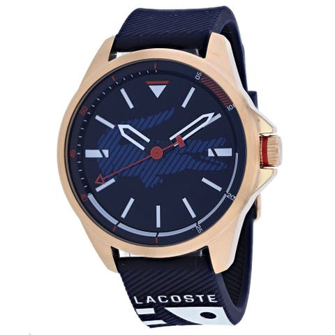 Lacoste Men's Analogue Classic Blue Dial Watch - 2010964