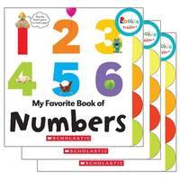 (3 Ea) Board Book My Fav Book Of Numbers Rookie Toddler