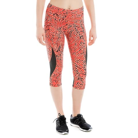 Lole Run Women's Run Capris Pattern