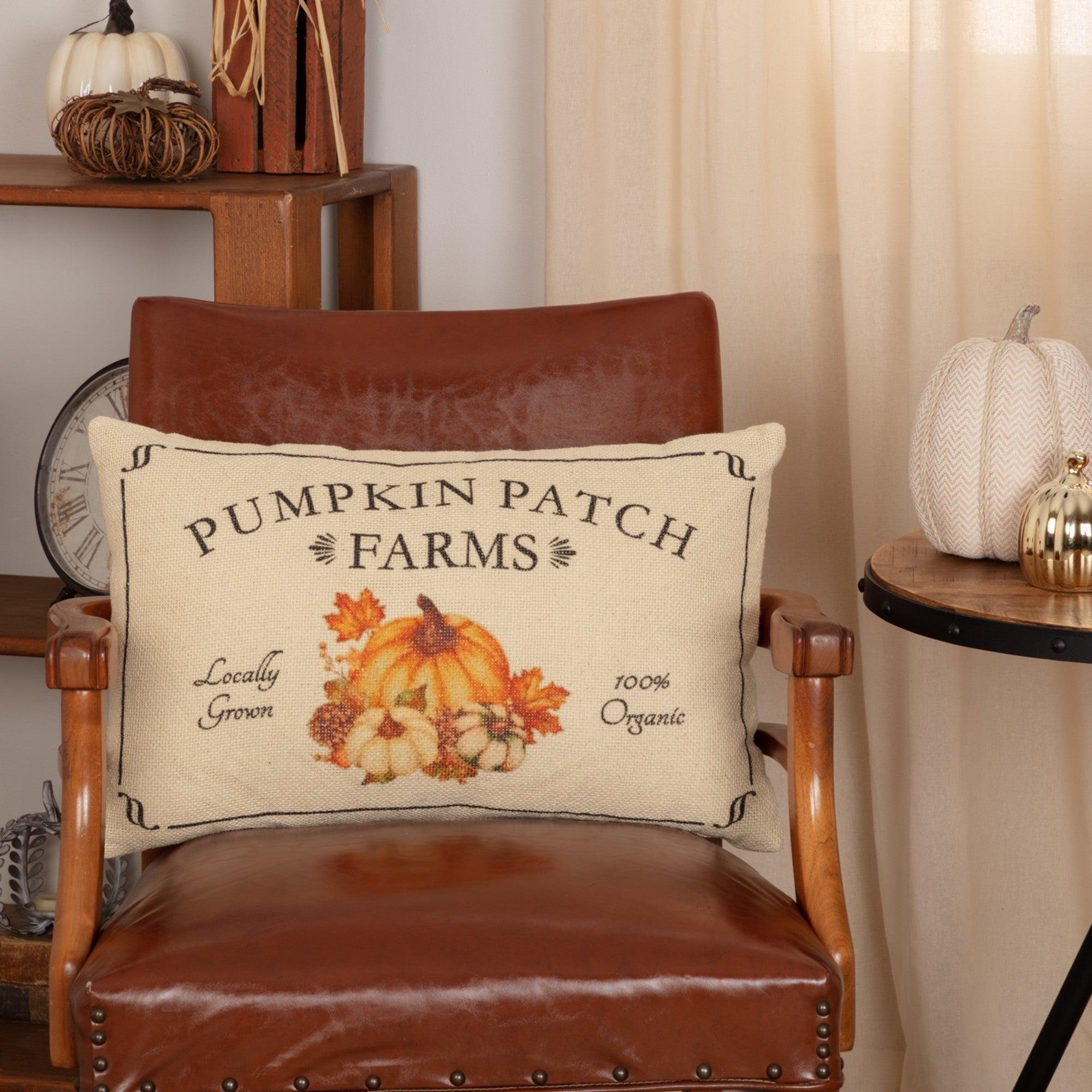 Fall farmhouse decor Pumpkin pillow burlap pillow Fall decorations Halloween decor Thanksgiving pillow FREE SHIPPING!
