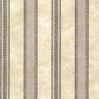 "Brewster SRC761910-SAM  8""x 10"" Sample of SRC761910 - Charcoal Tuscan Stripe"