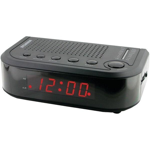 Sylvania Scr1388 Am/Fm Alarm Clock Radio
