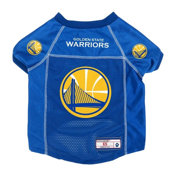 cheaper 7797f ab450 Golden State Warriors Pet Jersey Size XS