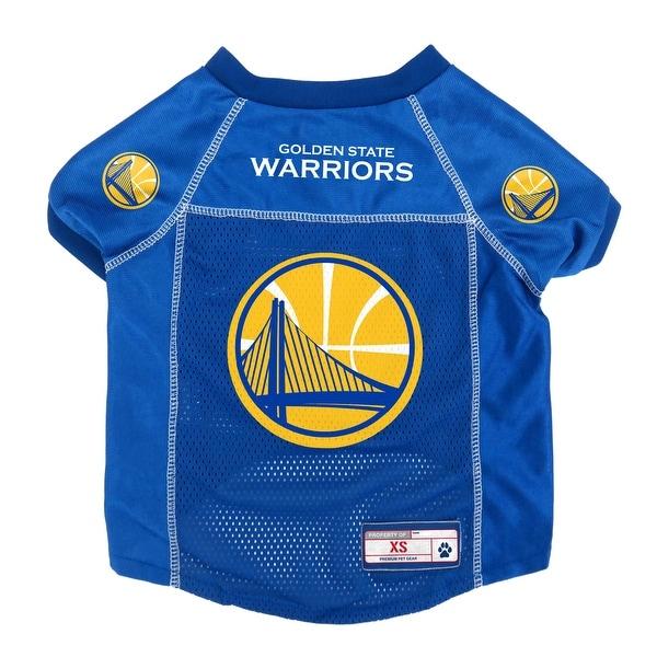 cheaper 3ba74 82bd9 Golden State Warriors Pet Jersey Size XS