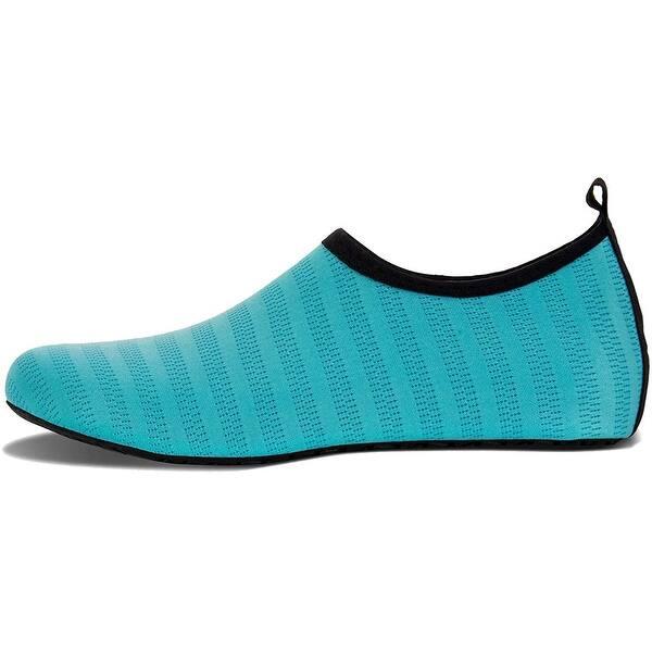 Blue//Diamond, M Womens and Mens Water Shoes Barefoot Quick-Dry Aqua Socks for Beach Swim Surf Yoga Exercise