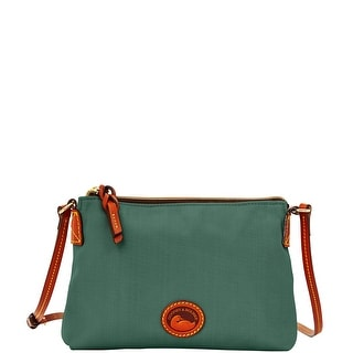 Dooney & Bourke Nylon Crossbody Pouchette (Introduced by Dooney & Bourke at $69 in Apr 2015) - Sage