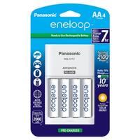 """Panasonic Eneloop """"Aa"""" (4) & 4-Position Charger"""