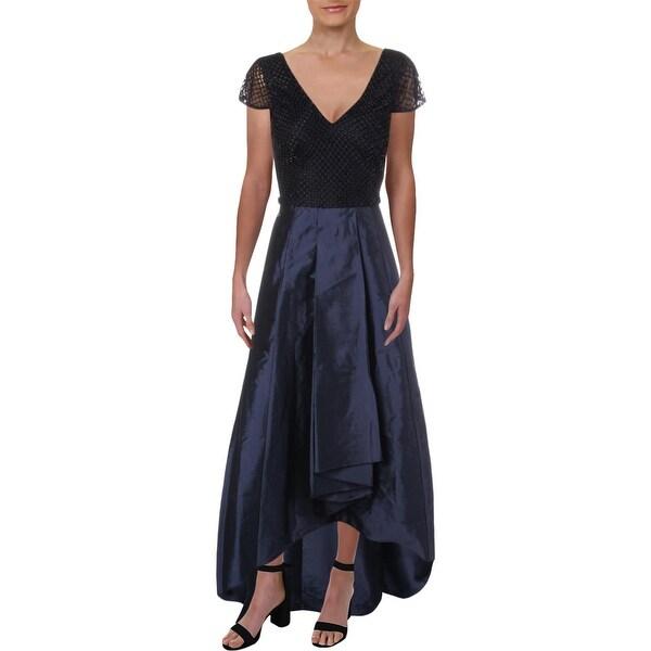 Adrianna Papell Womens Formal Dress Beaded Full-Length