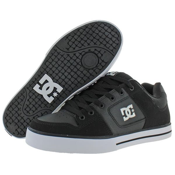 DC Shoes Men/'s Pure Nubuck Leather Padded Skate Shoes Sneakers