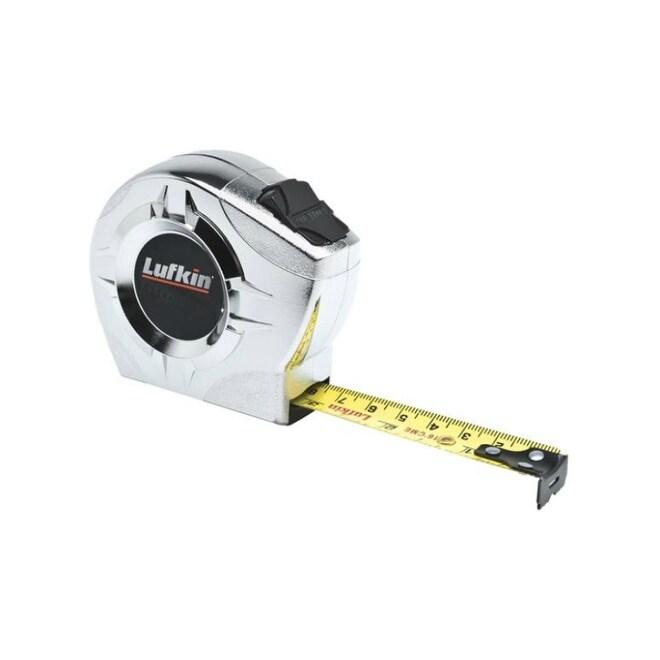Lufkin P2223CMEN Lightweight Tape Measure, 1/2 x 10