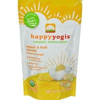 Happy Family - Organic Yogurt Snacks For Babies And Toddlers - Banana Mango ( 8 - 1 OZ)