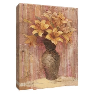 """PTM Images 9-154664  PTM Canvas Collection 10"""" x 8"""" - """"Orange Lilies"""" Giclee Lilies Art Print on Canvas"""