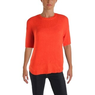 Lauren Ralph Lauren Womens Pullover Sweater Knit Hi-Low