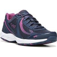 Ryka Women's Dash 3 Walking Shoe Insignia Blue/Vivid Berry