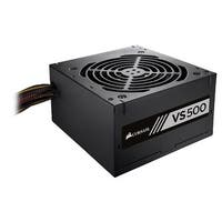 Corsair VS Series, VS500, 500 Watt (500W), Active PFC, 80 PLUS White Certified Power Supply
