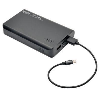 Tripp Lite Portable 10,000Mah Mobile Power Bank Usb Battery Charger, Dual Port (Upb-10K0-2U)