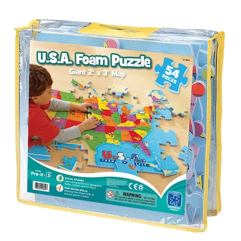 Educational insights usa foam map puzzle 4809