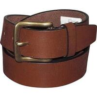 Buxton Men's Tahoe Casual Belt Tan