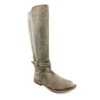 Lucky Brand Ostrand Round Toe Leather Knee High Boot