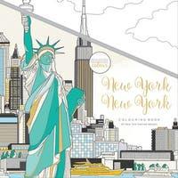 "Kaisercolour Perfect Bound Coloring Book 9.75""X9.75""-New York"