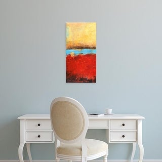 Easy Art Prints Erin Ashley's 'Golden Dawn I' Premium Canvas Art