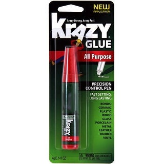 Krazy Glue KG82948MR All Purpose Super Glue, 4 Gram