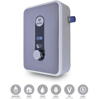 Eemax HA008240 4.8 GPM 8 Kilowatt Point of Use Electric Tankless Water Heater with 0.99 Energy Factor from the HomeAdvantage II