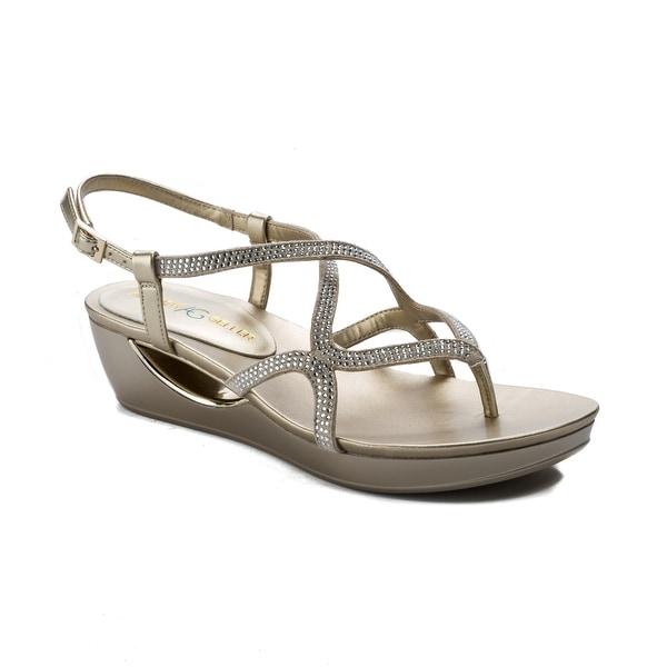 Andrew Geller Cecil Women's Sandals Gold