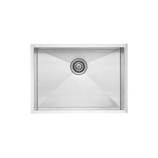 "Blanco 518171  Quatrus Kitchen Sink Undermount Single Basin 25"" x 18"" - Satin"