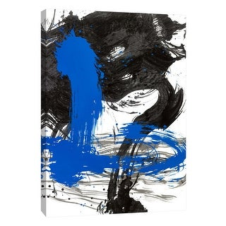 """PTM Images 9-108871  PTM Canvas Collection 10"""" x 8"""" - """"Elements 6"""" Giclee Abstract Art Print on Canvas"""