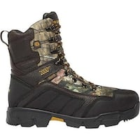 """LaCrosse Men's Cold Snap 10"""" 2000G Insulated Hunting Boot Mossy Oak Break-Up Country Leather/Nylon"""