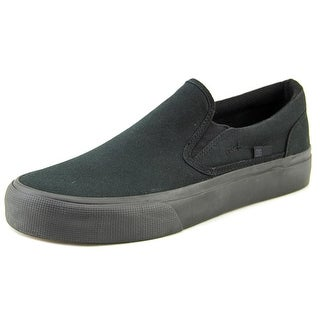 DC Shoes Trase Slip-On TX Men Round Toe Canvas Sneakers