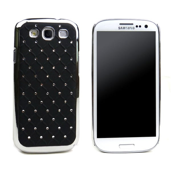 JAVOedge Crystal Back Cover for the Samsung Galaxy S3 - Black