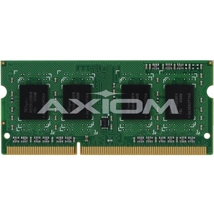 """Axion A6994452-AX Axiom 4GB DDR3 SDRAM Memory Module - 4 GB - DDR3 SDRAM - 1600 MHz DDR3-1600/PC3-12800 - SoDIMM"""