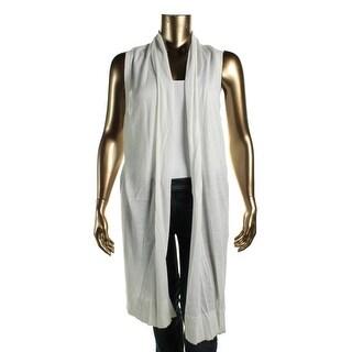 MICHAEL Michael Kors Womens Knit Open Front Casual Vest
